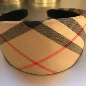 COPY - Classic Burberry Headband.
